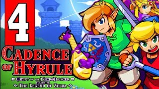 Cadence of Hyrule: Walkthrough Part 4 - CROSS THE RIVER / Visit the Windmill to the South First