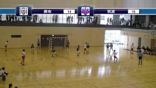 ハンドボールhandball 麻布大学×筑波大学 後半2