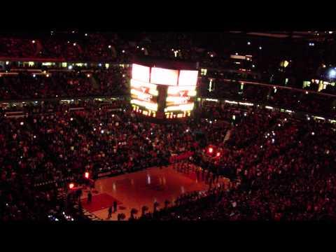 Chicago Bulls 2012 Home Opener