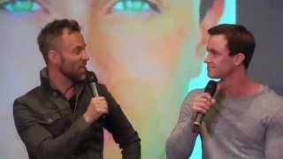 jr bourne and ryan kelley talk about new best friends nemetonitacon