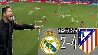 Real Madrid 2-4 Atletico Madrid: How Simeone's Atletico Outclassed Lopetegui's Real Madrid | Tactics