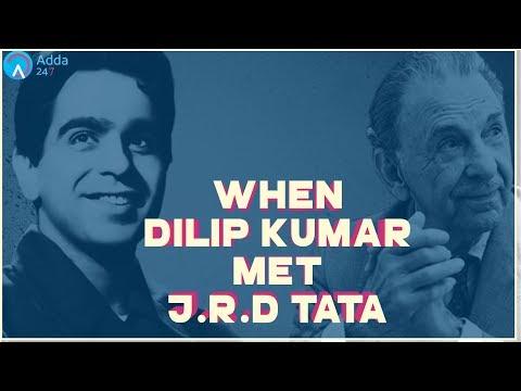 Great Stories: When Dilip Kumar Met J.R.D Tata - Be Humble