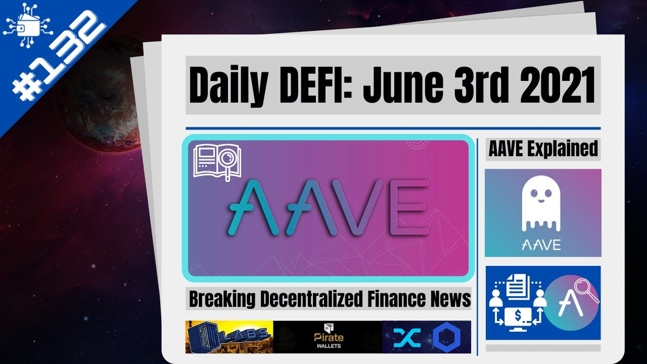 AAVE Token Explained (Crypto Guide 2021) $9 Billion TVL Lending/Borrowing Project