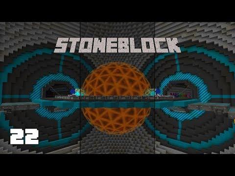 StoneBlock EP22 Tier 8 Draconic Energy Core + Neutron Collectors