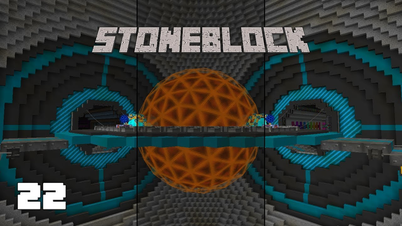 StoneBlock EP22 Tier 8 Draconic Energy Core + Neutron Collectors
