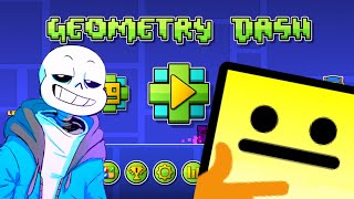 Geometry Dash: Playing Undertale Levels