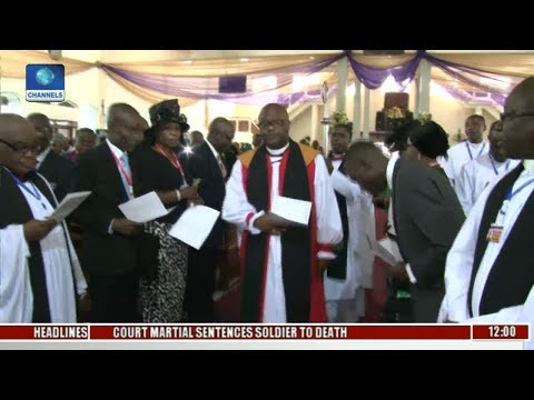 Metrofile: Diocese Of Lagos Mainland Holds Its First Synod, Preaches Peace, Unity In Nigeria