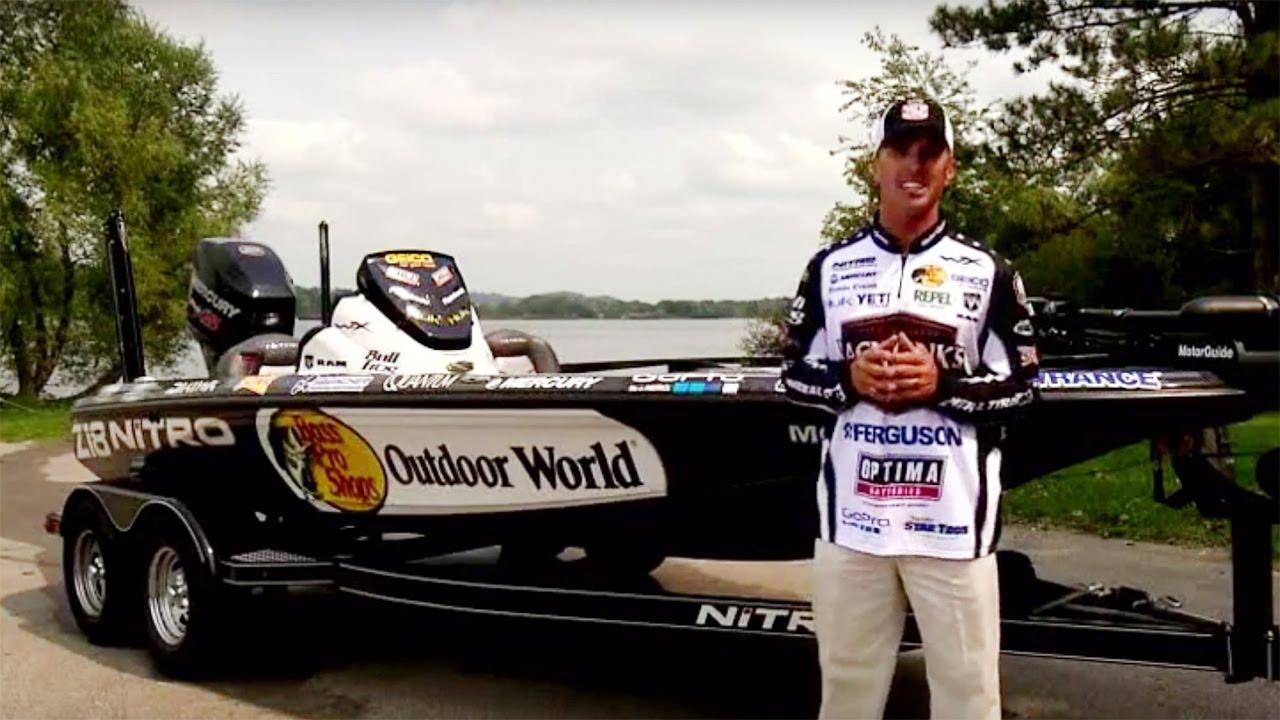 Nitro boats edwin evers reviews the official major league for Major league fishing com