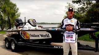 NITRO Boats: Edwin Evers Reviews the Official Major League Fishing 2016 NITRO Z18