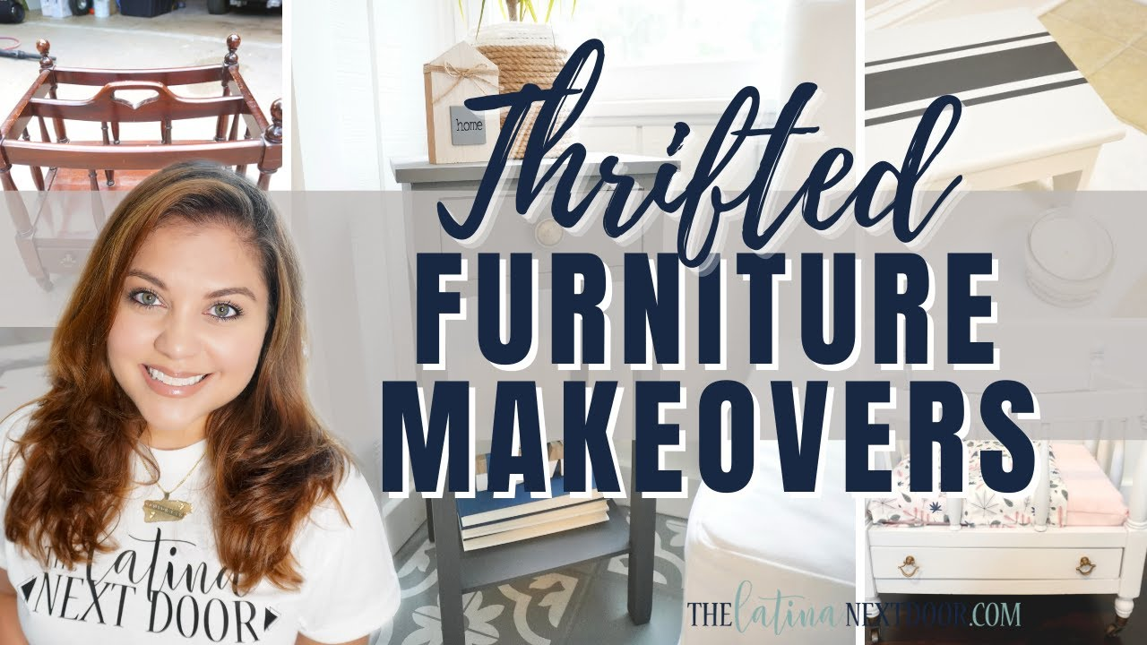 *THRIFTED* FURNITURE TRANSFORMATIONS | Furniture Flips | Trash to Treasure