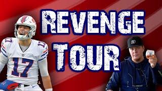 The Josh Allen revenge tour has begun