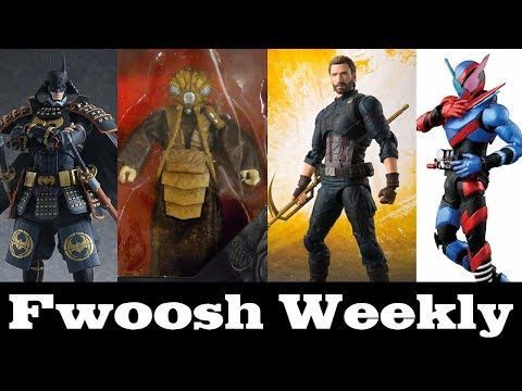 Weekly! figma Batman, Transformers, SHF Avengers, Star Wars, Model Kits, MOTU, Deadpool, and more!