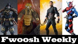Weekly! figma Batman, Transformers, SHF Avengers, Star Wars, Model Kits, MOTU, Deadpool, and more!
