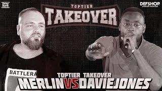 MERLIN vs DAVIE JONES | TOPTIER TAKEOVER MAINMATCH