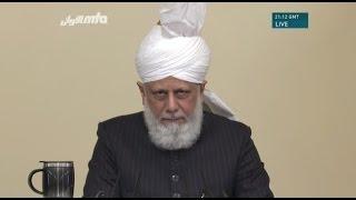 Cuma Hutbesi 11-11-2016 - Islam Ahmadiyya