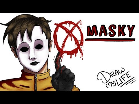 MASKY | Draw My Life Creepypasta