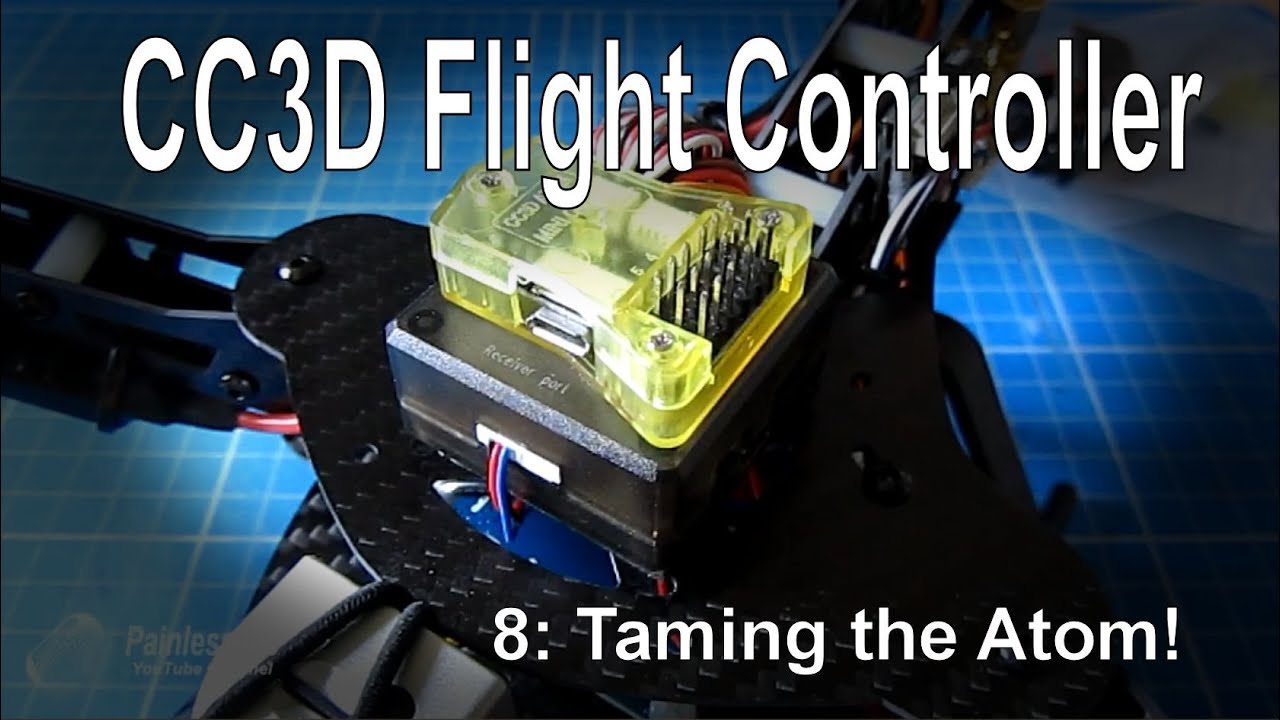 8 10 cc3d flight controller the cc3d atom mini version supplied by gearbest com [ 1280 x 720 Pixel ]