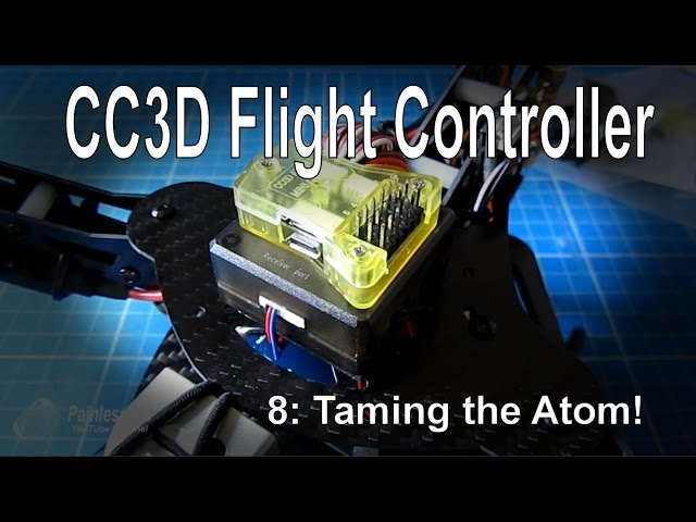 (8/10) CC3D Flight Controller – The CC3D Atom/Mini version, supplied by Gearbest.com