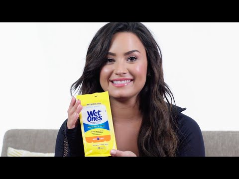 Why Demi Lovato Brings Wet Wipes to the Gym | SELF