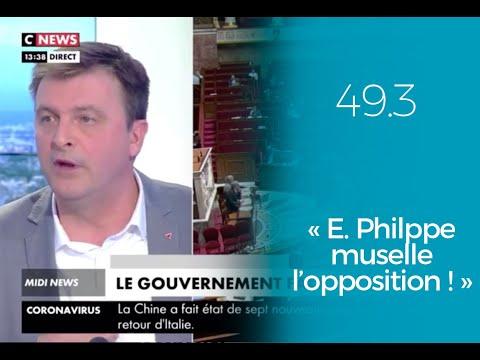 49-3 : Edouard Philippe muselle l'opposition !