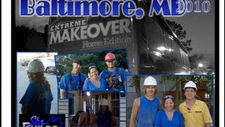 Extreme Makeover Baltimore - Nicole Jordan Volunteers.wmv