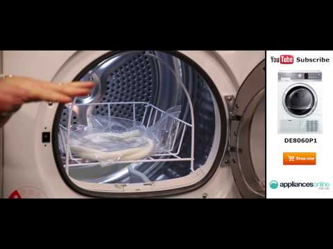 8kg Fisher & Paykel Condenser Dryer DE8060P1 Reviewed By Product Expert - Appliances Online