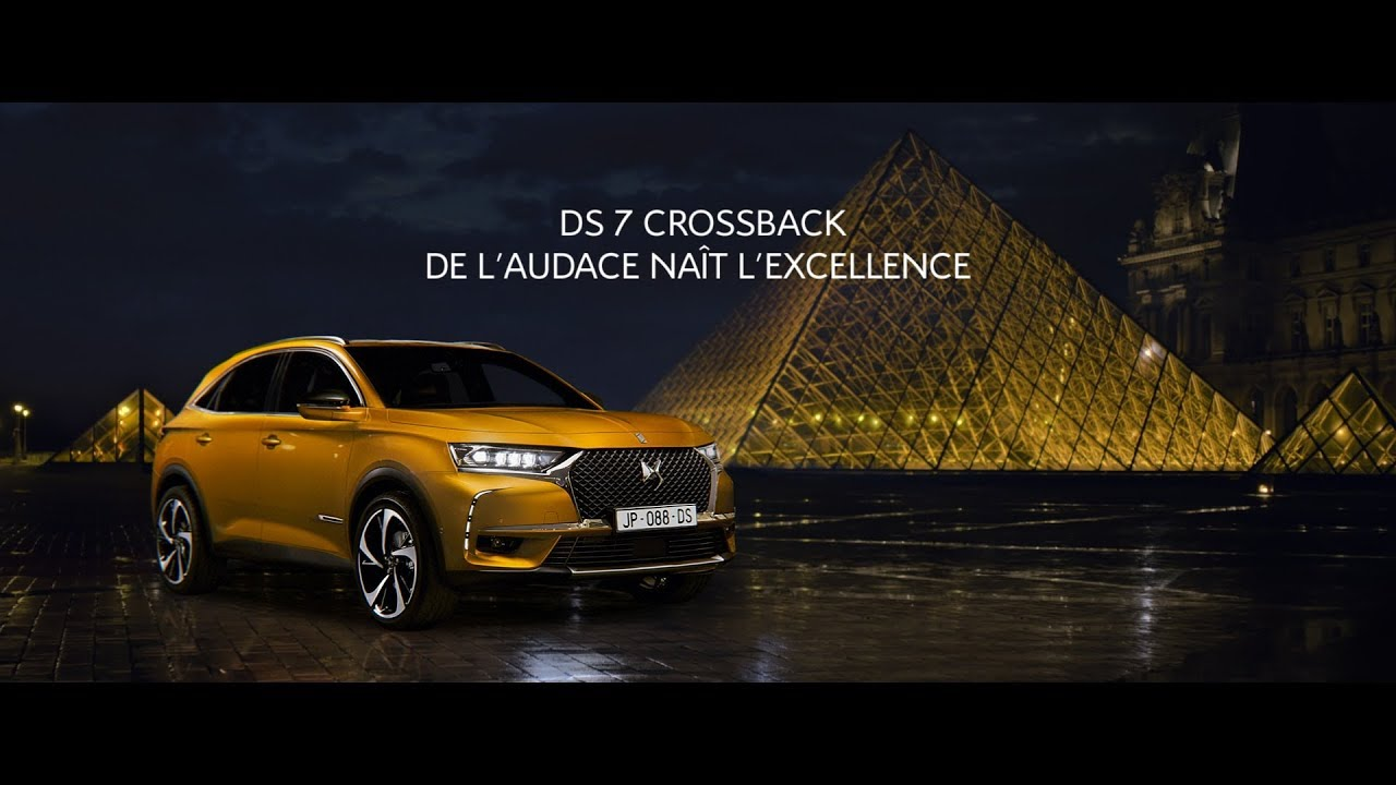 ds 7 crossback de l 39 audace na t l 39 excellence film officiel youtube. Black Bedroom Furniture Sets. Home Design Ideas