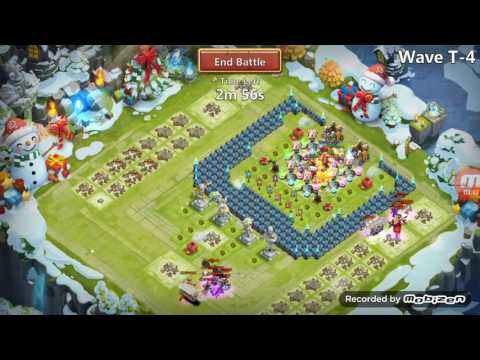 Castle Clash:how To Win Hbm T (the Best Base For Hbm T)