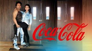 COCA COLA DANCE CHOREOGRAPHY   Luka Chuppi   ft. Samrat Chaudhary & Dia   Landscape Dance Troupe