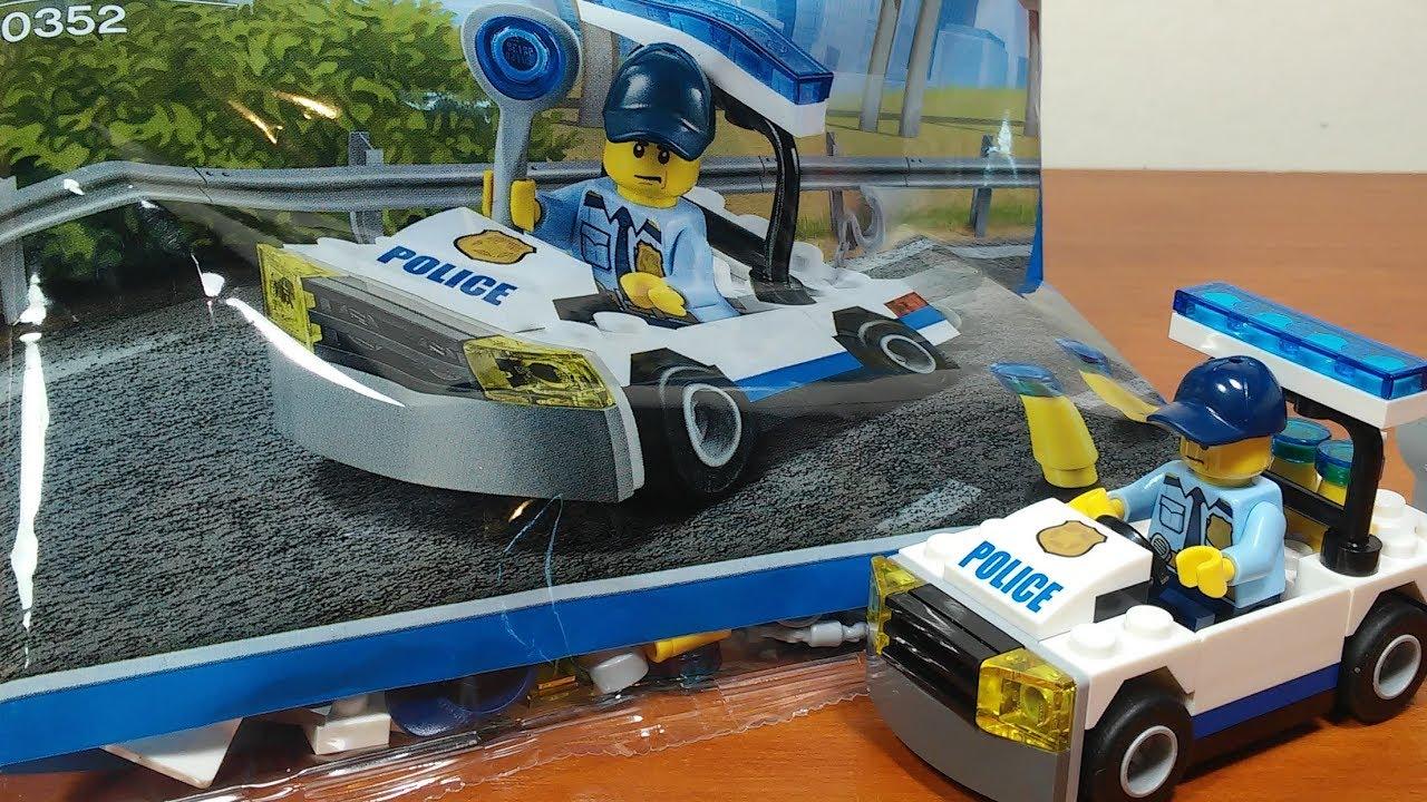 Lego Radiowóz - Recenzja zestawu nr 30352