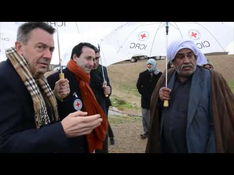Iraq: ICRC President Peter Maurer's visit to Kirkuk water project