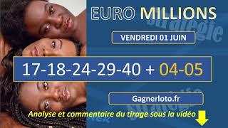 EUROMILLIONS VENDREDI 1 JUIN