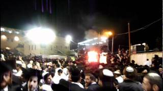 Lag B'Omer in Meron at Kever Rashbi - HD - 2011