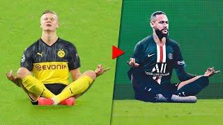 Как футболисты троллят друг друга