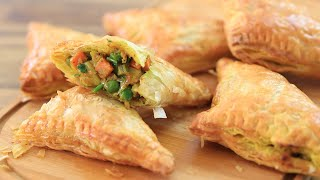Vegetable Curry Puffs Recipe | How to Make Curry Puffs