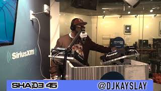 Rich Rhymer interview with Dj Kayslay at Shade45. 10-30-19