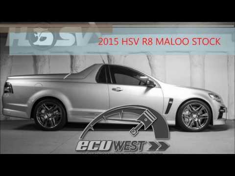 HSV VF Maloo Stock Dyno Run