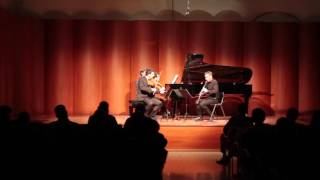 M. Acar, I. Vermeersch Amor, V. Perčević - W. A. Mozart: Trio in E-flat major, K.498