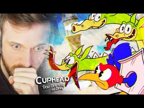 WORST AND GROSSEST IDEA I'VE EVER HAD. • Cuphead Gameplay (Part 4 + BeanBoozled Challenge)