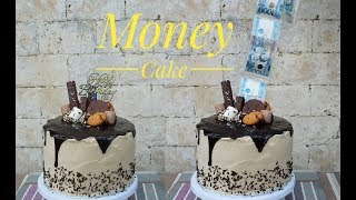Money Cake | Money Pulling cake (Surprise cake)