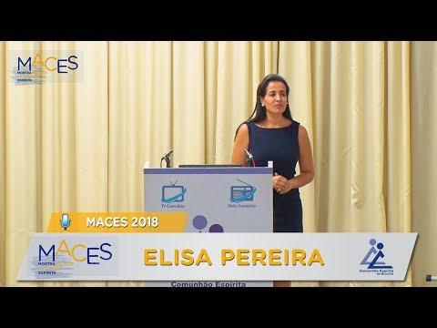 MACES 2018 | PALESTRA SOBRE PINTURA MEDIÚNICA - Elisa Pereira