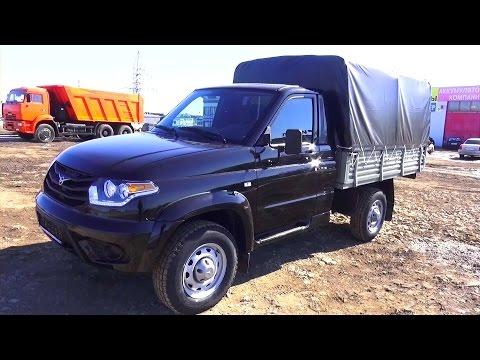 2015 УАЗ Патриот 23602 Cargo. Обзор (интерьер, экстерьер, двигатель).