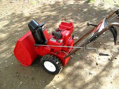 Snow Blower 24 >> Toro 421 Snow Blower - YouTube