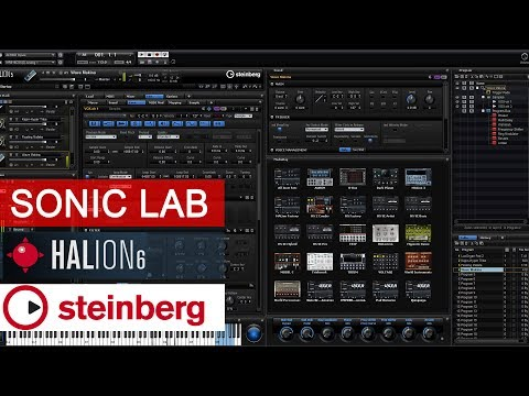 Sonic LAB: Steinberg HALion 6 - bet you didnt know...