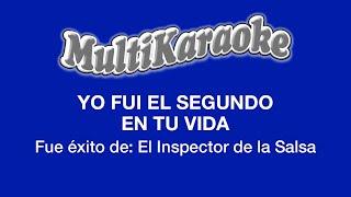 Multi Karaoke - Yo Fui El Segundo En Tu Vida