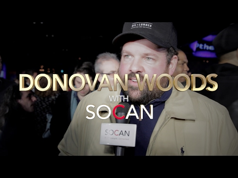 Donovan Woods - with SOCAN at the JUNOs