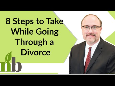 8 Steps to Take While Going Through a Divorce | Attorney David Pace | Contested Divorce in Alabama