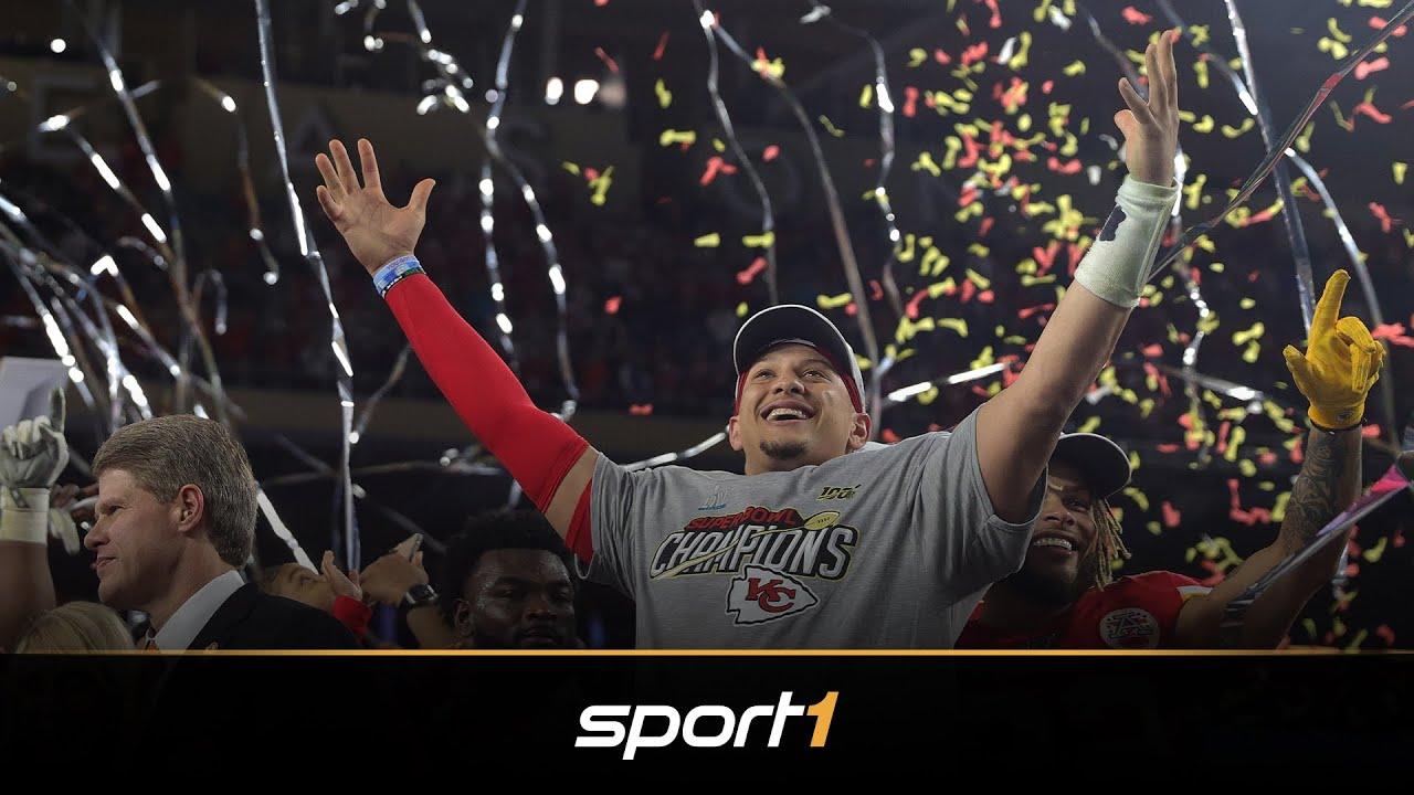 Das sagt Mahomes zum Triumph im Super Bowl | SPORT1