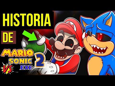 ULTIMO ATAQUE Do SONIC EXE 😈| HISTORIA Mario Vs Sonic.exe 2