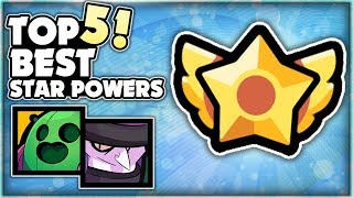 The Top 5 BEST Star Powers In Brawl Stars! Showdown Island Invasion Gameplay!